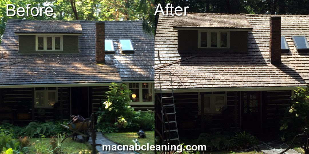 Cedar Roof Cleaning North Saanich BC