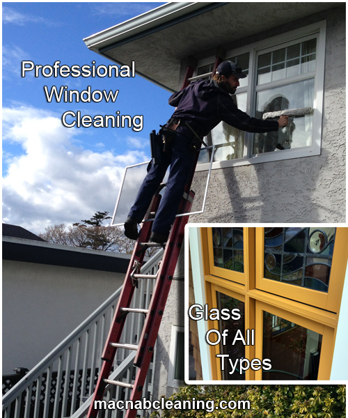 MacNab Exterior Professional Window Cleaning and Speciality Glass