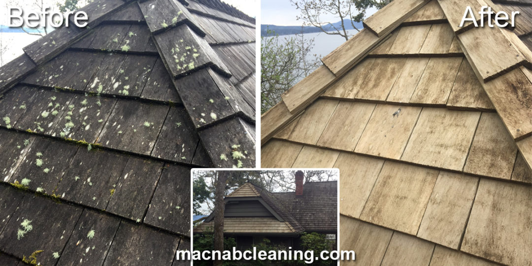 Cedar Roof Cleaning North Saanich