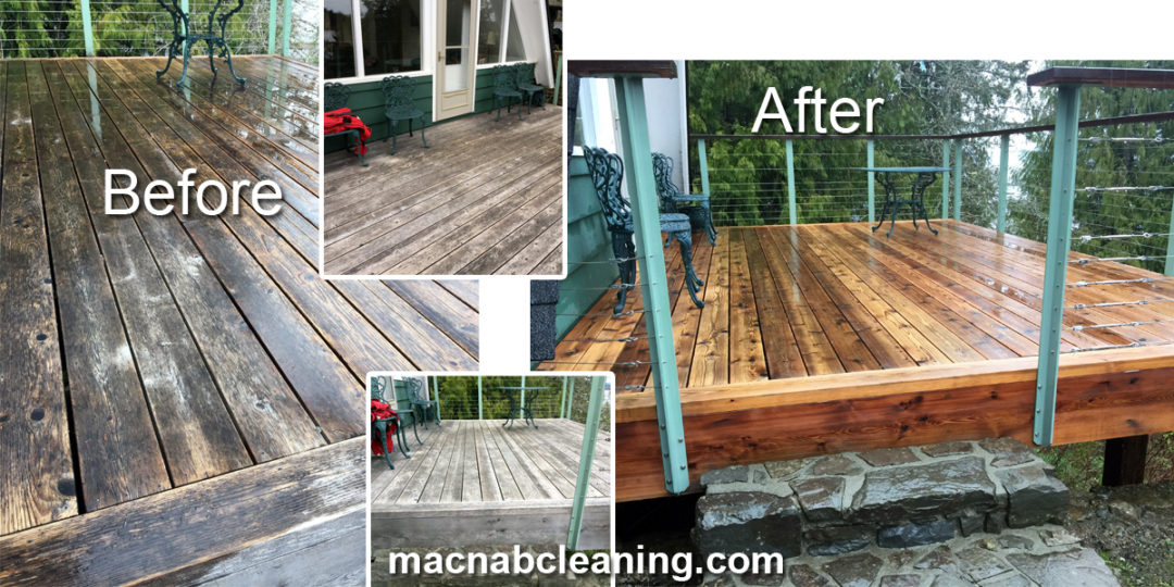 Deck Pressure Washing Shawnigan Lake