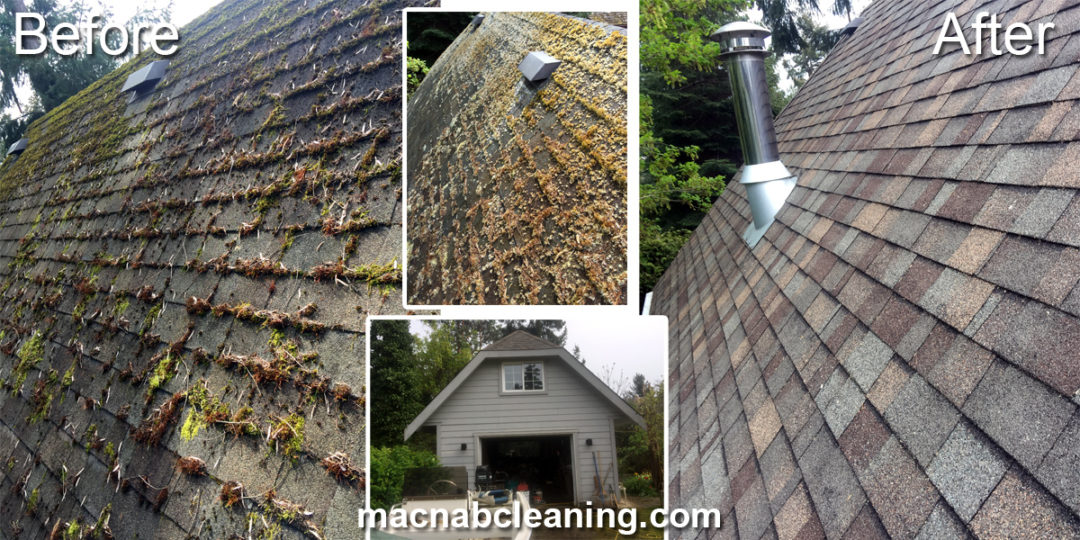Roof Cleaning Demoss North Saanich