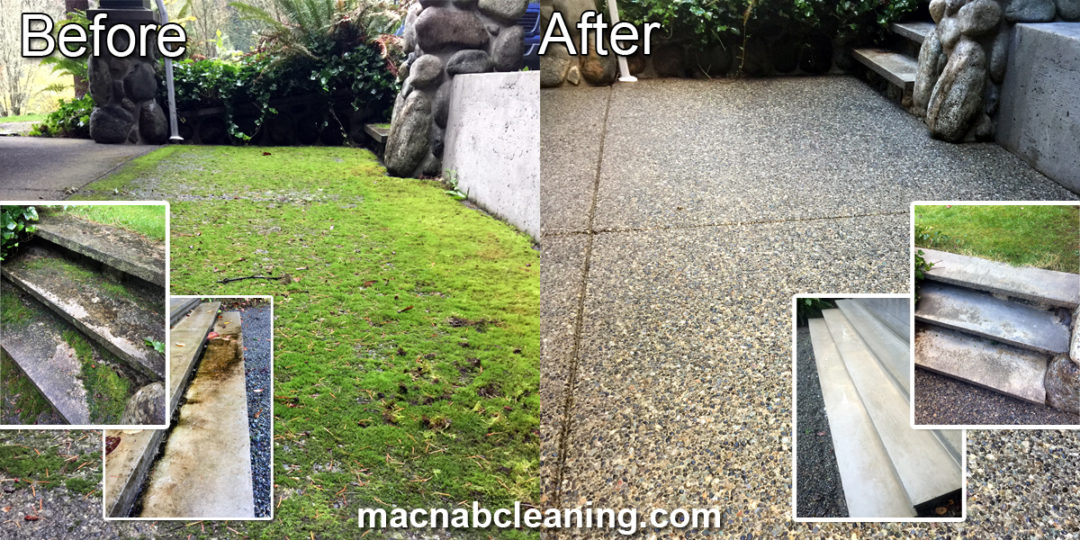 Pressure Washing and Concrete Treatment Deep Cove