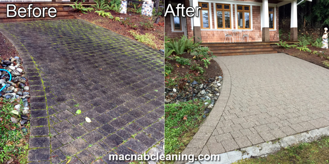 Pressure Washing North Saanich